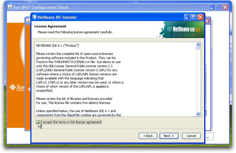 SunSPOTWorld - Windows XP Install